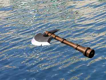 The Axe Head Floats