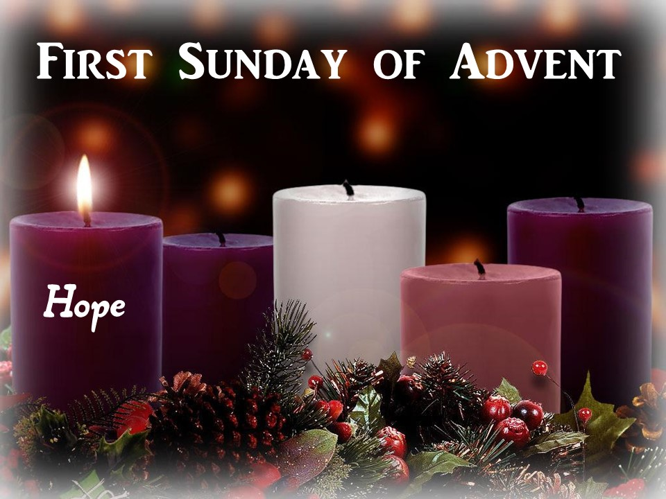 Advent 1 – Hope